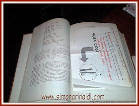 1-Antologia Palumbo con segnalibro d'epoca