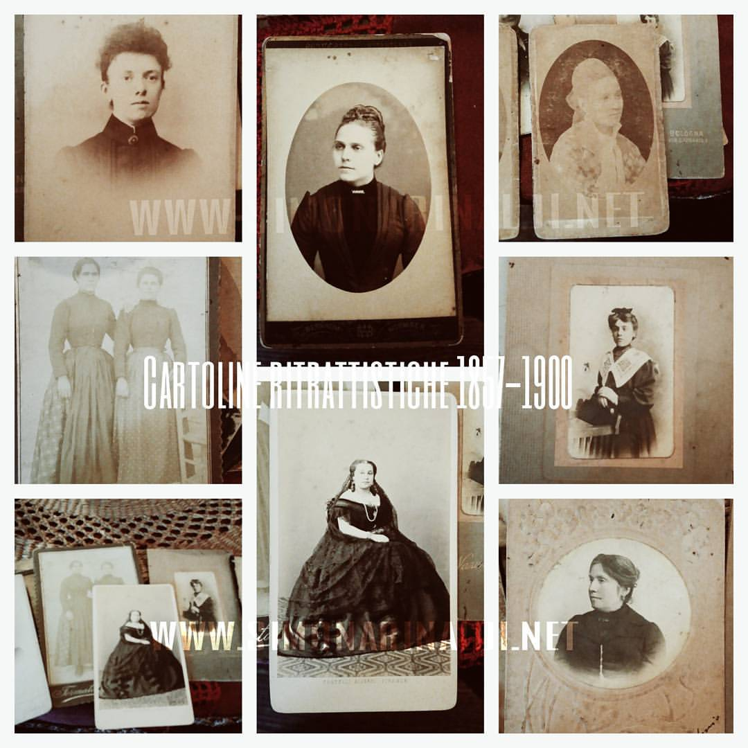 Collezionismo cartoliner itrattistiche femminili