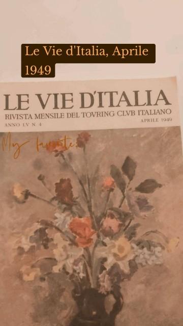 Le Vie d'Italia, Aprile 1949